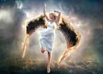 Black Wings Angel