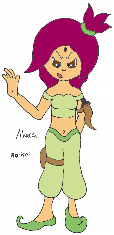 My Story OC - Alura by Minakie