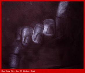 Hand Study - White Chalk