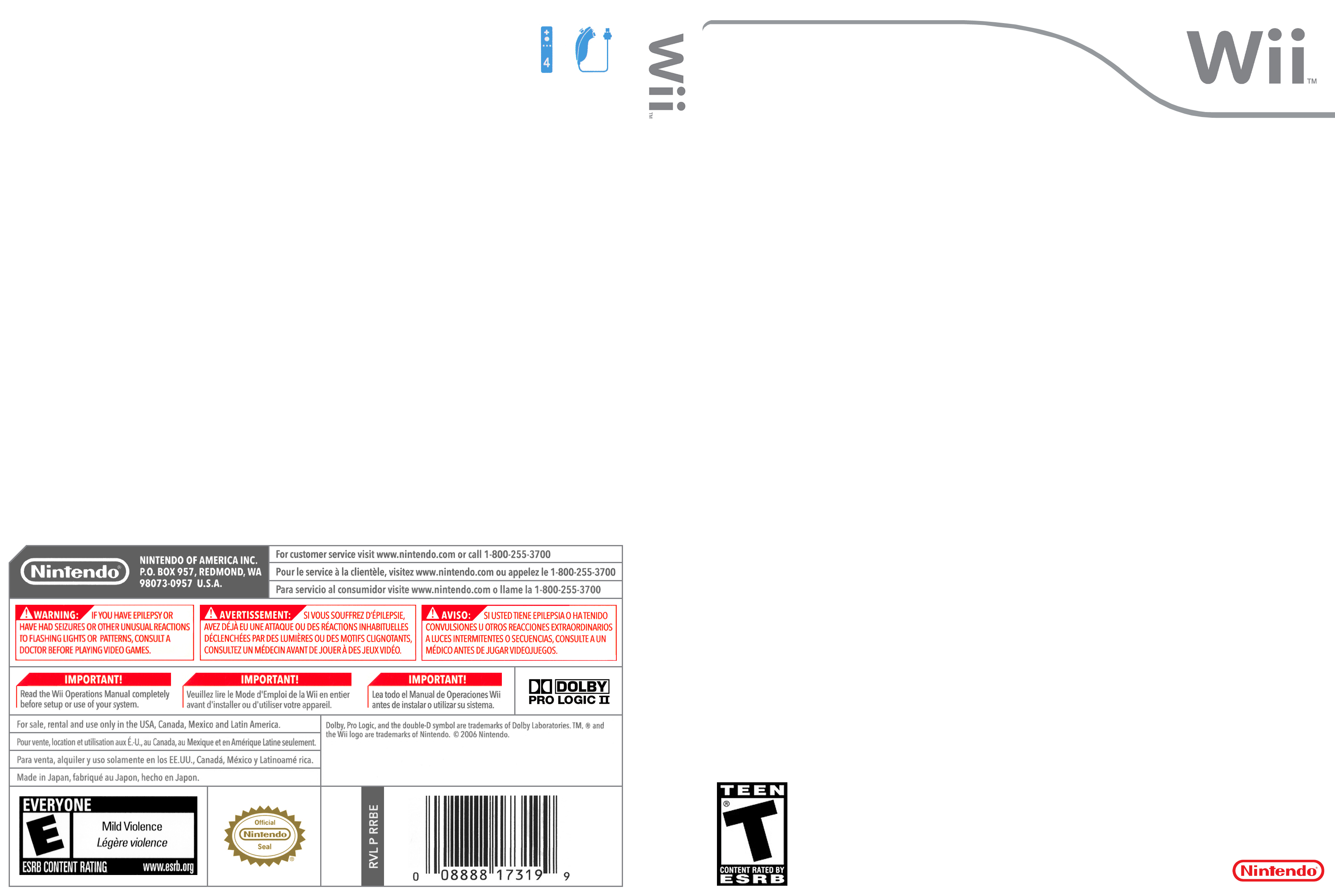 Wii Cover Template - Hi-Res by StardogChampion on DeviantArt