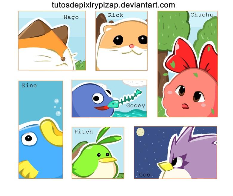 Kirbys dreamland characters