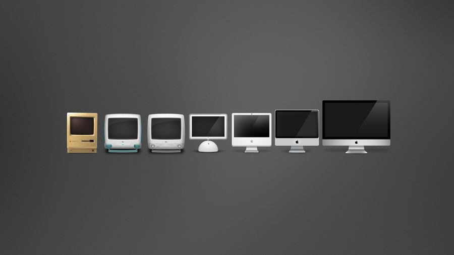 The Evolution Of Mac by iTeppo