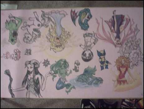 Practice Playmat by lady-elf