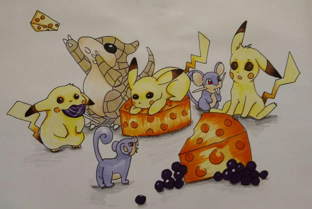 Rodent pokemon by lady-elf