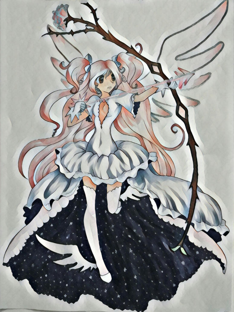 Madoka by lady-elf
