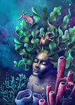 Coral reef spirit by solanarey