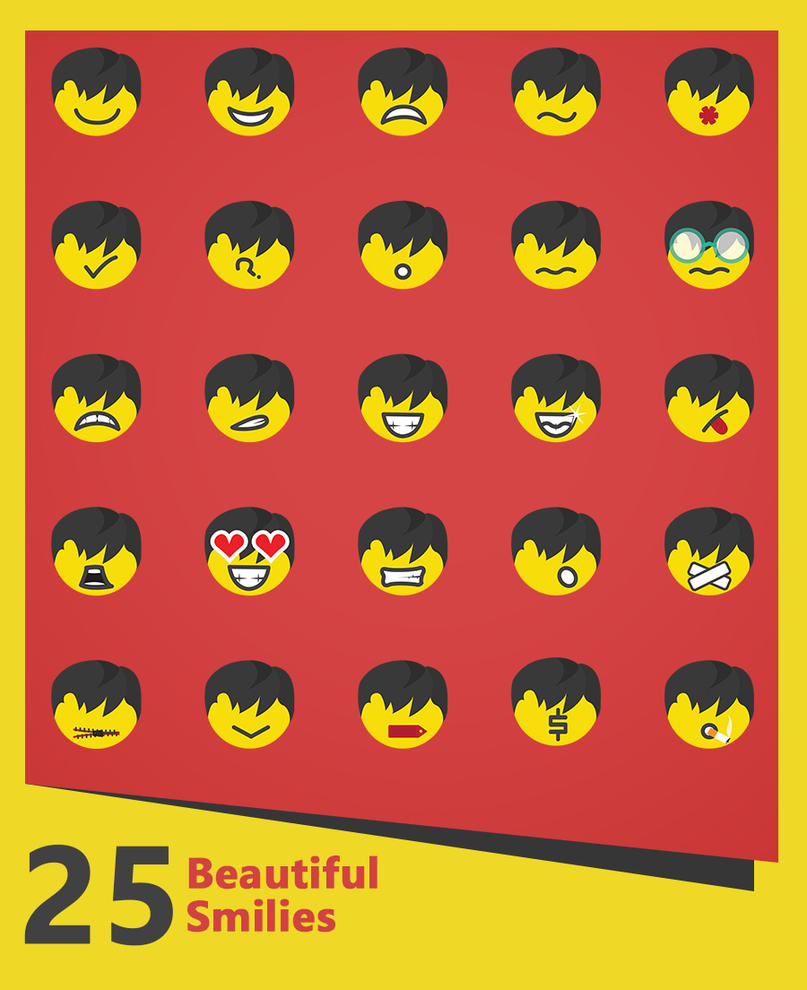 25 amazing Smilies by themajiks