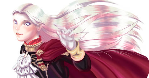 Fire Emblem: Three Houses - Edelgard