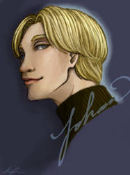 Johan Liebert by Meii-chan