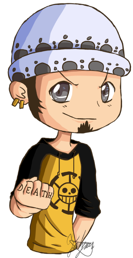 Trafalgar Law chibi by Ace1999 on DeviantArt