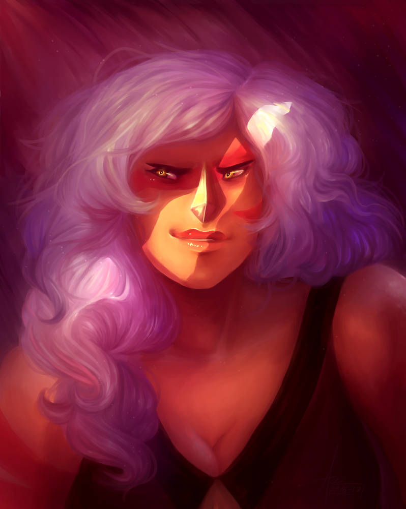 Honestly, jasper is my favorite villain within the Steven Universe(universe), my only wish is for her to be redeemed   She deserves so much more. So since the new Steven bomb is coming ar...