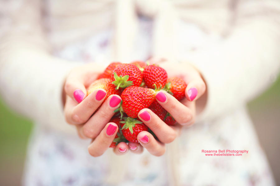 Irresistible Strawberries - Day 132 by rosannabell