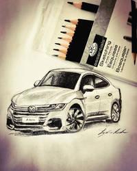 Volkswagen 2018 drawing