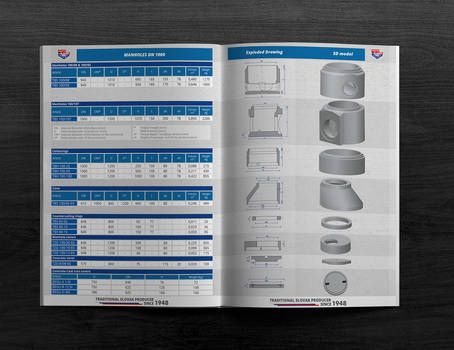 Product sheet of precast - drainage