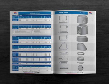 Product sheet of precast - drainage