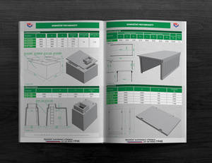 Product sheet of precast - commercial