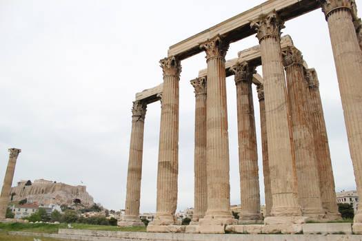 Temple of Zeus - Athens