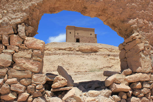 Window to the Top - Morocco
