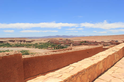Overlooking the Sahara - Morocco