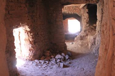 Ait-Ben-Haddou Interior - Morocco