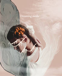 Dreaming Awake - Smudge Tag by McKsBack