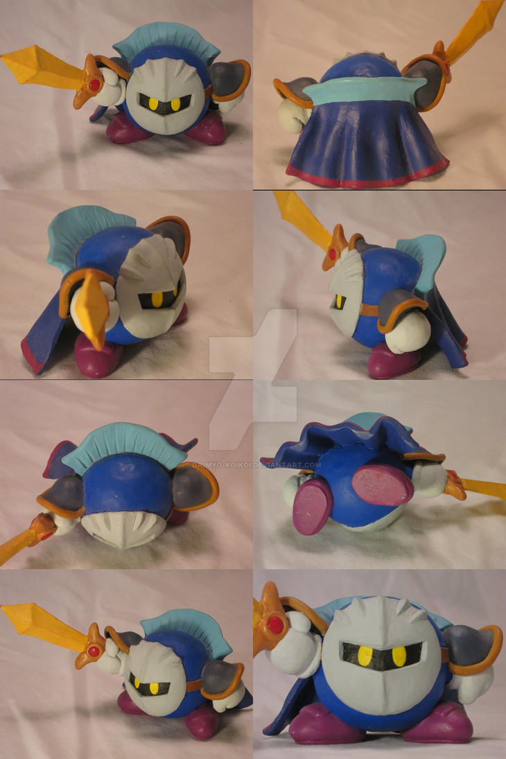 KSSUltimateSculptures: Meta Knight by Daimyo-KoiKoi