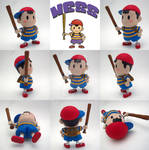 Super Smash Bros Ness Sculpture