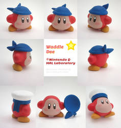 Waddle Dee Painted Polymer Clay Sculpture