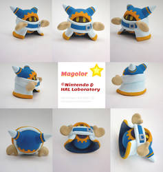 Magolor Painted Polymer Clay Sculpture