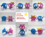 Lololo Lalala Painted Polymer Clay Sculpture