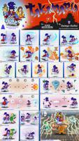 Super Smash Bros. Ultimate- Takamaru Concept by Daimyo-KoiKoi