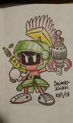 Marvin the Bomber by Daimyo-KoiKoi