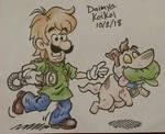 Luigi Dooby Doo