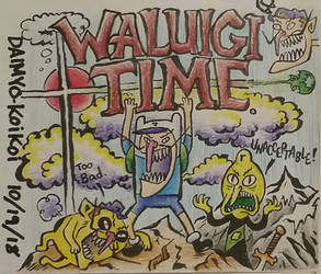 Adventure Waluigi Time