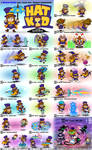Hat Kid - Super Smash Bros. Moveset Compendium by Daimyo-KoiKoi