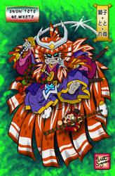 Shishi-Toto-No-Mikoto (Kabuki CDChallenge) by Daimyo-KoiKoi
