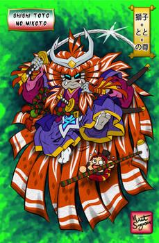 Shishi-Toto-No-Mikoto (Kabuki CDChallenge)