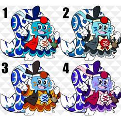 The Final Four (KoiKoi Colors Test) by Daimyo-KoiKoi