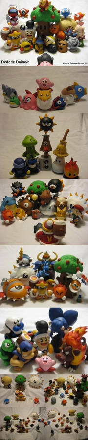 Photo SHOOT - Kirby Clay Sculptures