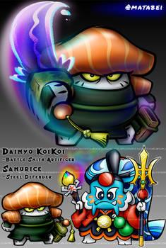 Samurice - Daimyo KoiKoi's Steel Defender
