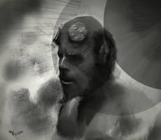 Hellboy by Marikobard