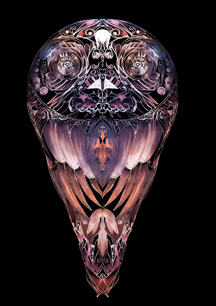Hypnotic owl by Marikobard