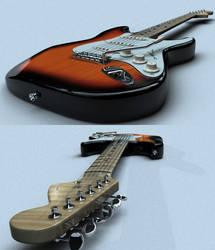 Stratocaster by Sakey