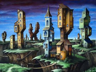 Quake Village by justindmiller