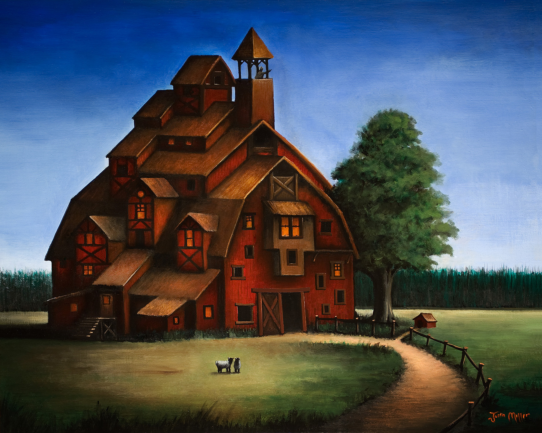 Barn House By Justindmiller On Deviantart