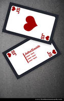 Poker Business Card by Freshbusinesscards