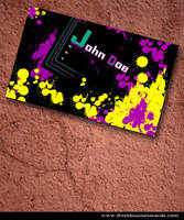 Abstract Business Card by Freshbusinesscards