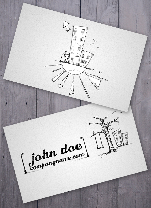 Slums Business Card by Freshbusinesscards