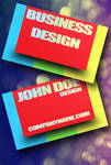 Colorful PSD Business Card by Freshbusinesscards