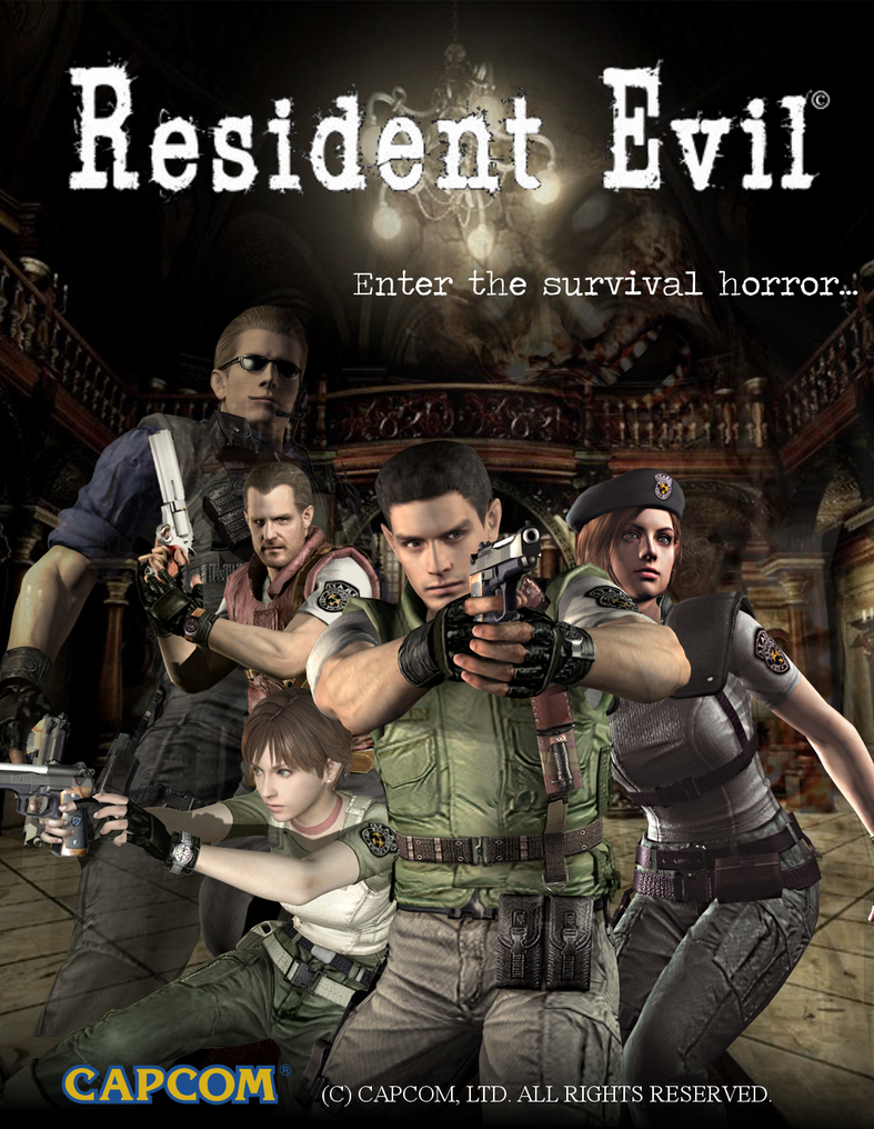 Resident Evil Remake Poster The Remake By Iceweb38 On